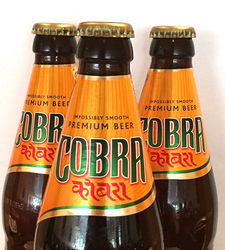 FREE BOTTLE OF COBRA - Grapes Tandoori Indian Restaurant